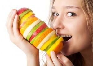 privilégier les légumes et fruits
